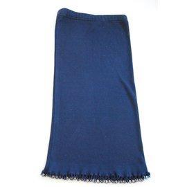 Chanel-chanel skirt-Bleu Marine