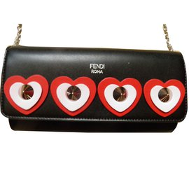 Fendi-Wallet on chain-Multicolore