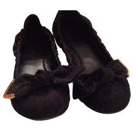 Louis Vuitton-Louis Vuitton ballerines-Noir