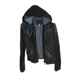 Armani Jeans-Perfecto-Noir