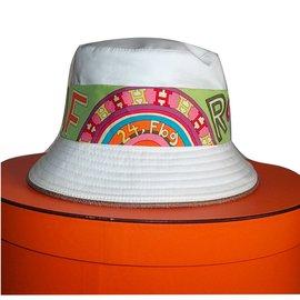 Hermès-Hat-White