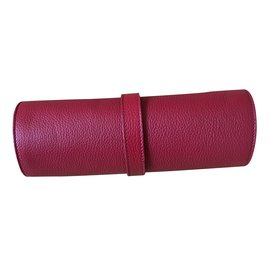Burberry-Watch pouch-Red