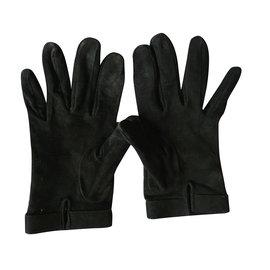 Gucci-Gloves-Black
