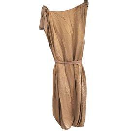 Lanvin-Robe-Beige