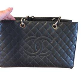 Chanel-GST-Dark grey