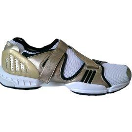 Stella Mc Cartney-Sneakers-Black,White,Golden