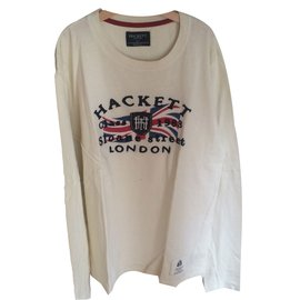 Hackett London-Top garçon-blanc cassé