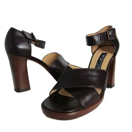 Sandales Plates-formes En Velours - ÉmeraudePrada 27vih1