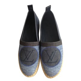 Louis Vuitton-Espadrille-Bleu