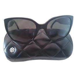 Chanel-Lunettes Chanel Tweed-Noir