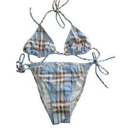 Burberry-Maillot bain-Bleu