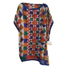 Hermès-Beach tunic-Multiple colors