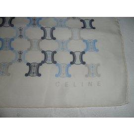 Céline-CELINE NEW SMALL WOMAN'S MINI SCARF FOULARD  BLUE-Multiple colors
