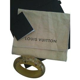 Louis Vuitton-manchette à inclusions-Sable