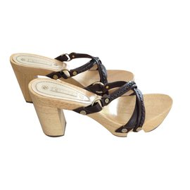 Céline-Clogs-Dark brown