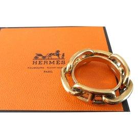 ... Hermès-Anneau de foulard Frégate Hermès-Doré c1db77f8168