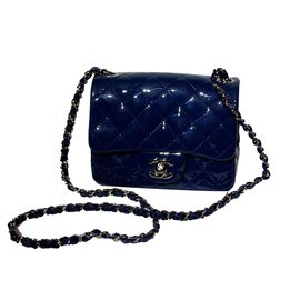 Chanel-Handbag-Blue