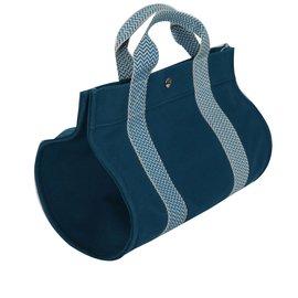 Hermès-Cabas-Bleu