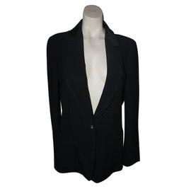 Louis Vuitton-Veste Uniforme-Noir