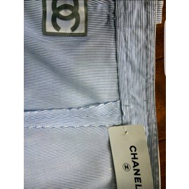Chanel-Short-Blanc