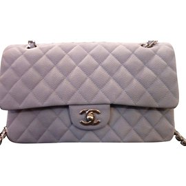 Chanel-Timeless caviar-Grey
