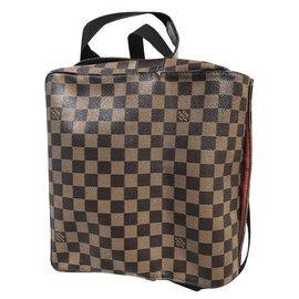 Louis Vuitton-Naviglio messenger bag-Marron