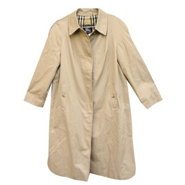 Burberry-Coat, Outerwear-Beige