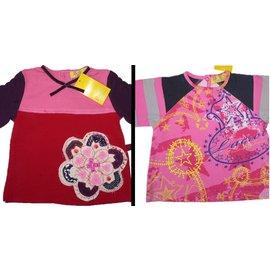 Christian Lacroix-Lot de 2 tee-shirts 6m-Multicolore
