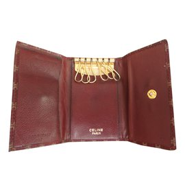 Céline-Purse, wallet, case-Brown