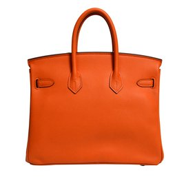 Hermès-Birkin 25-Orange