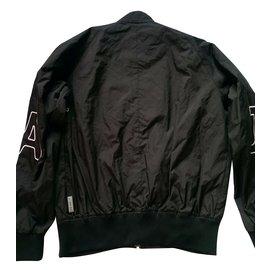 Armani Jeans-Bomber-Noir