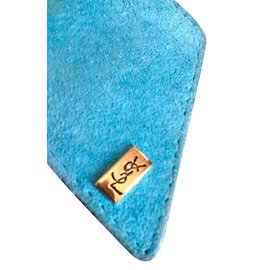 Yves Saint Laurent-Ceinture-Bleu