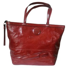 Coach-Handbag-Red