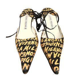 Luciano Padovan-Heels-Yellow