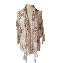 Hermès-Silk blouse-White