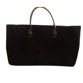 Chanel-Sac Chanel shopping  XXL-Noir