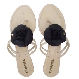 Chanel-Sandals-Eggshell
