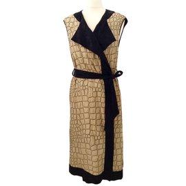 Dries Van Noten-robe/manteau/veste/ kimono-Noir