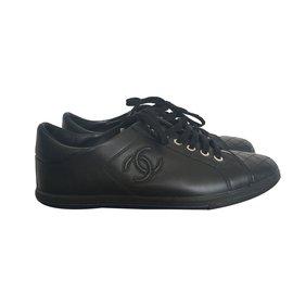Chanel-Baskets-Noir