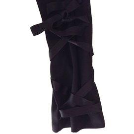 Yves Saint Laurent-Combinaison-Noir