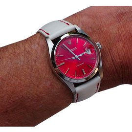 Rolex-Oyster date précision-Red