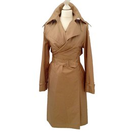 Hermès-Trench coat-Brown