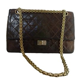 Chanel-Chanel 2.55 vintage-Brown