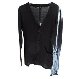 Costume National-Cardigan-Noir