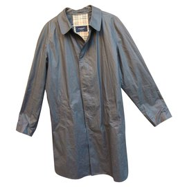 Burberry-Trench coat-gris anthracite