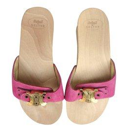 Céline-Mules-Pink