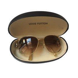Louis Vuitton-Lunettes de soleil Thelma-Doré