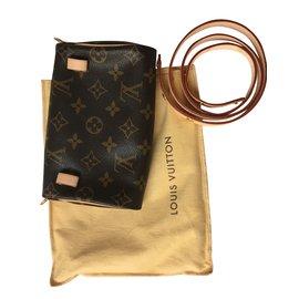 Louis Vuitton-Pochette ceinture-Marron