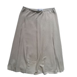 Sonia Rykiel-Skirt-Beige