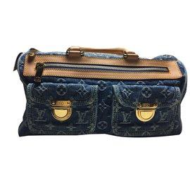 Louis Vuitton-Speedy neo denim-Bleu